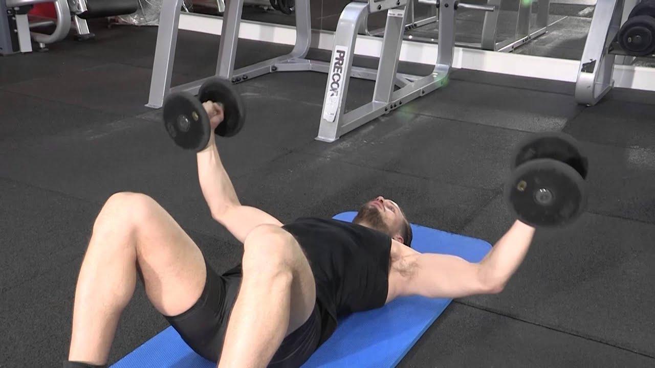 Dvelopp Couch Avec Haltres Exercice De Musculation