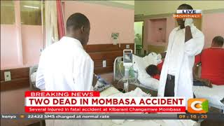 Two dead in Mombasa accident #CitizenExtra