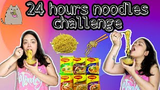 I Only ATE NOODLES For 24 HOURS In LOCKDOWN | FOOD Challenge In Lockdown |Anku Sharma