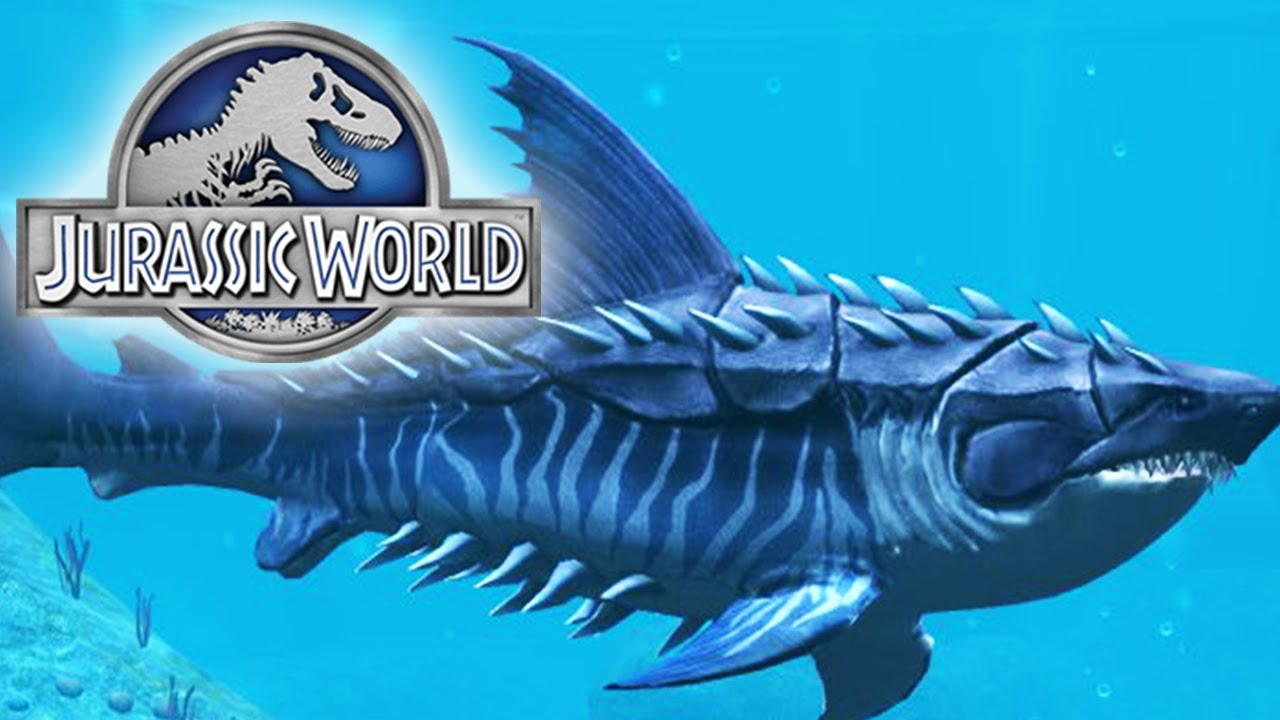 Jurassic World The Game - Megalodon Level 40 - Maxed Out! - YouTube