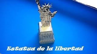 Paper Toys. Origami - Papiroflexia. Estatua De La Libertad En 3d