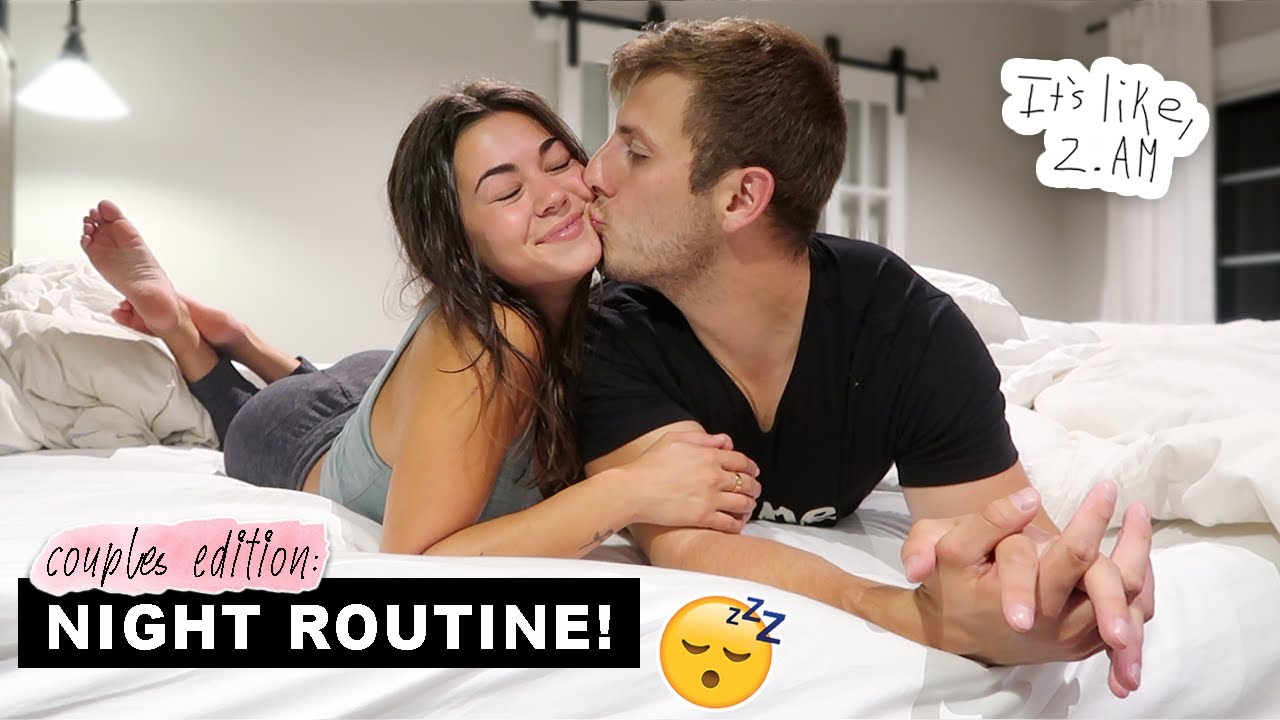 Our Night Routine as a COUPLE! 💖