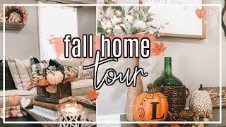FALL HOME DECOR TOUR 2018   FARMHOUSE FALL HOME DECOR #FallFridaysWithPage   Page Danielle