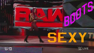 Sexy Boots! WWE 2016 Raw! [Sasha Banks Plus 59]