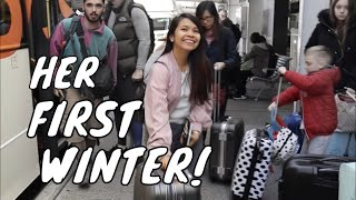 Shanta's First Winter in Australia!!!