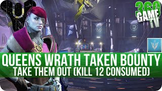 Destiny Take Them Out (Kill 12 Consumed) - Queens Wrath Taken Bounty Walkthrough / Location