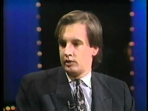Bill Bixby Elvis Conspiracy show Jan. 1992 -Ali photo   introduction of Larry Kolb