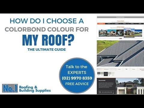 How Do I Choose A Colorbond Colour For My Roof? - No1
