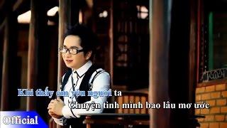 Yêu Cô Bạn Thân Beat Chuẩn - Bằng Cường || Video Karaoke HD