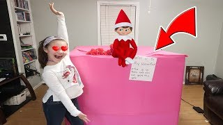 Huge Present From Valentine's Day Elf On The Shelf! Will You Be My Valentine?