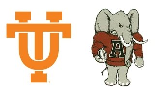 1965 Tennessee at Alabama (Highlights)