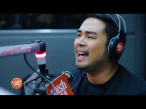 """Jed Madela sings """"When Love Once Was Beautiful"""" LIVE on WIsh 107.5 Bus"""