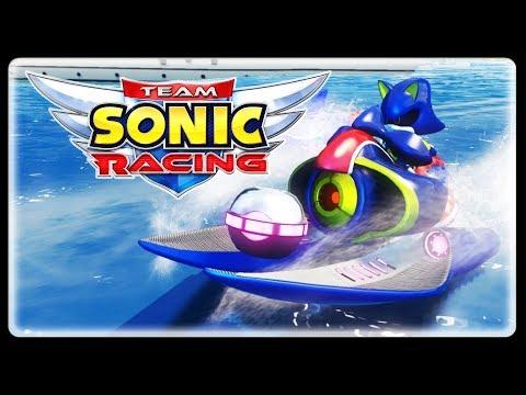 TEAM SONIC RACING - Metal Sonic CONFIRMED! A Secret Villain Remains!