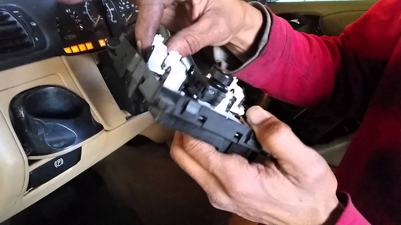 how to fix mercedes window switch the cheap way  [ 1280 x 720 Pixel ]