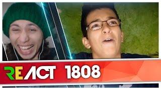 React 1808 TEM ALGO ESTRANHO NO YAKULT E SÓ VOCÊ NÃO SABIA - #DeniResponde14 (Deni)