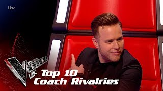 The Biggest Coach Rivalries of 2018! | The Voice UK 2018