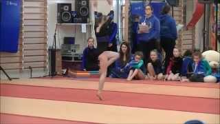 Siofra at the Regional Gymnastics Apparatus Finals - 2014