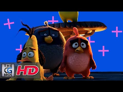 """CGI & VFX Breakdowns: """"The Angry Birds Movie"""" - by Sony Pictures Imageworks"""