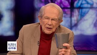 CBN Founder Pat Robertson Leads Communion As Christians Shelter In Place For Easter Weekend