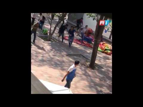 Pelea entre facultades de la UAS de Culiacán, Sinaloa