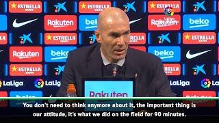 Zidane believes Barca
