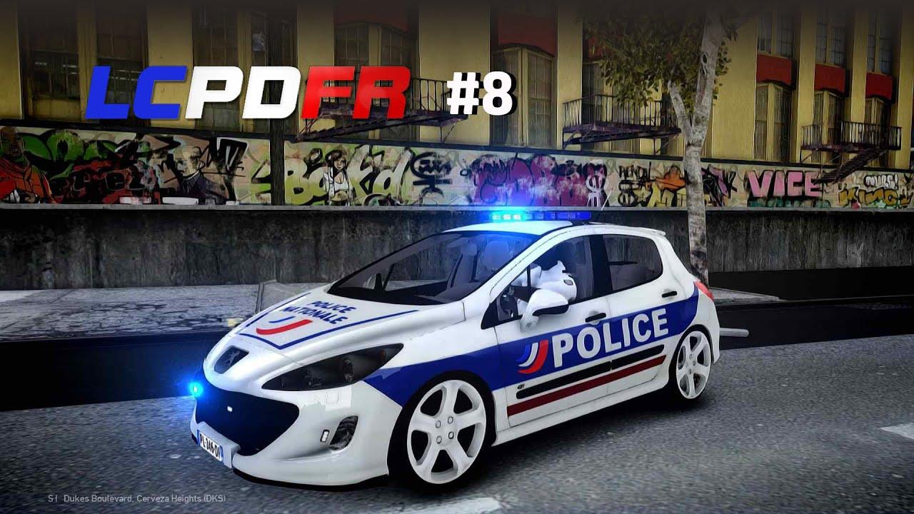 GTA IV - LCPDFR Patrouille La Police Nationale, le retour #8 - FR - YouTube