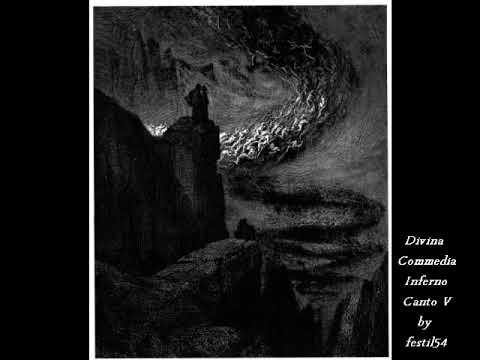 Divina Commedia Inferno Canto V Paolo e Francesca