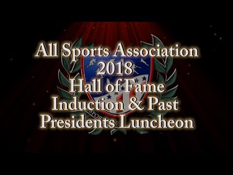 All Sports Association's Hall of Fame 2018