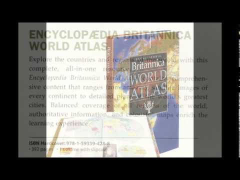 ENCYCLOPEDIA BRITANNICA WORLD ATLAS - PT. PENERBIT LENTERA ABADI