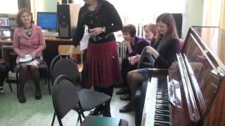 Новая гуманитарная школа. Отчетный концерт по музыке во втором классе 22 апреля 2015 года.