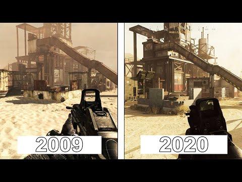Call of Duty: Modern Warfare | Rust Map Evolution | 2009 - 2020