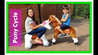Unicorn PonyCycle® Ride on - Fun For Kids