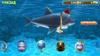 Белая акула - детская игра про акул Hungry Shark