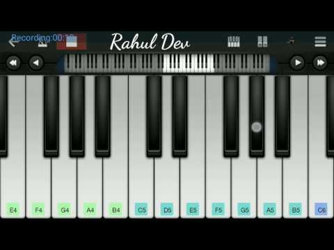 Piano Tutorial Dil Jude Bina Hi Tut Gaye instrumental walk band