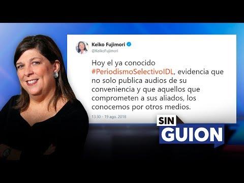 Keiko, en su mala redacción, dice que no - SIN GUION con Rosa María Palacios