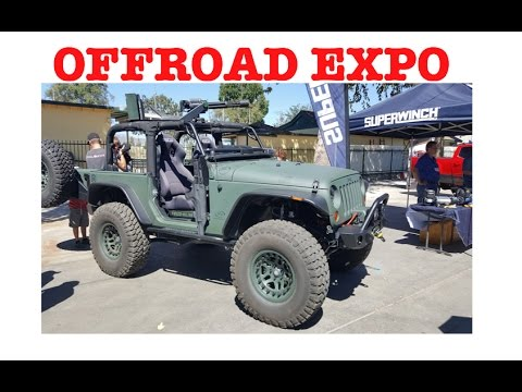 Off Road Expo Pomona California - the whole show in less than 10 minutes!!!