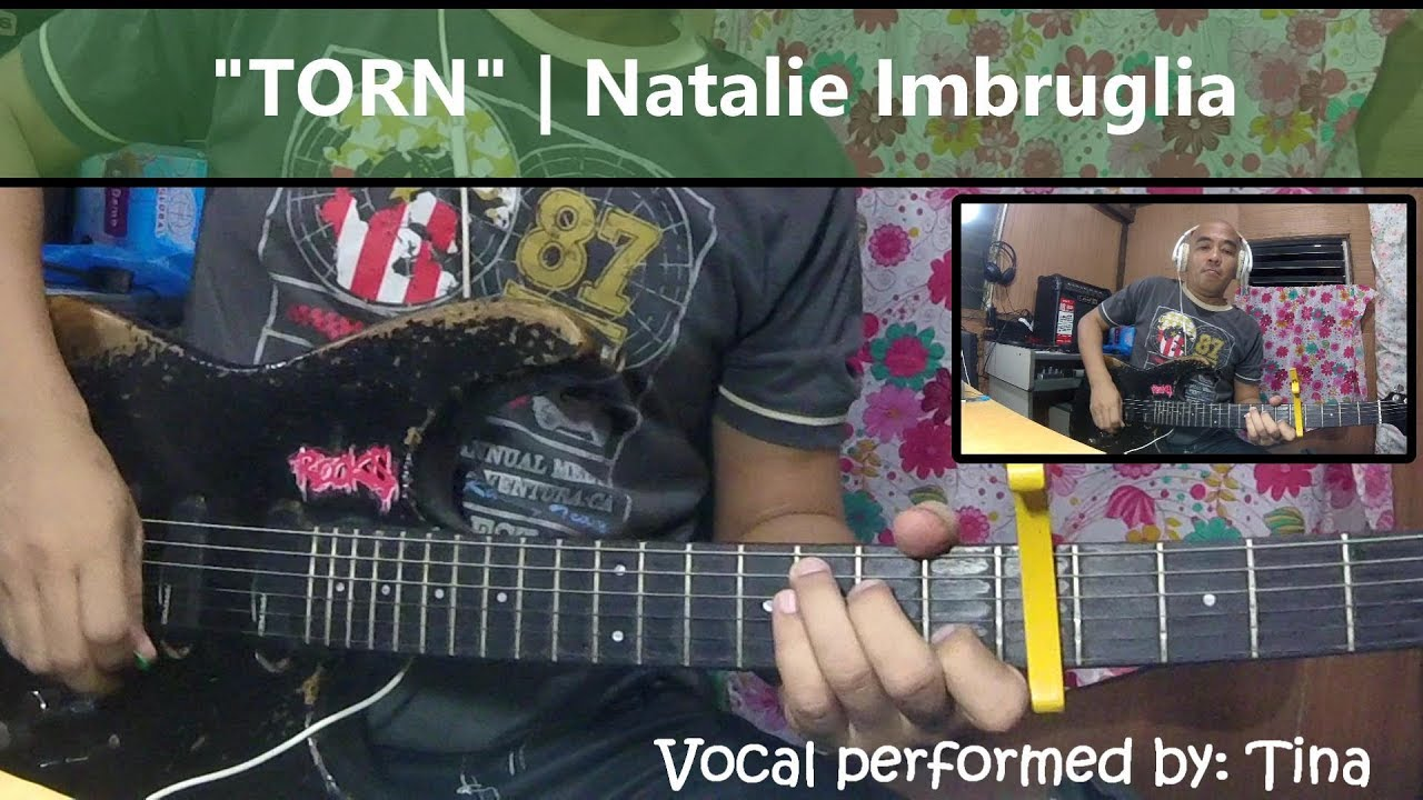 Torn Natalie Imbruglia Guitar Cover With Chords Youtube