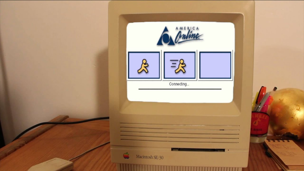 AOL Dial-Up Internet - YouTube