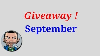 Monthly Giveaway September 2018 | Low Budget Gaming