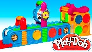 Play Doh Mega Fun Factory Hasbro Toys Review Play Dough