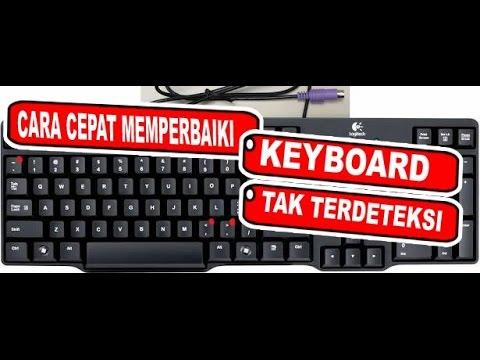 Cara Memperbaiki Keyboard Laptop Pc Eror Youtube