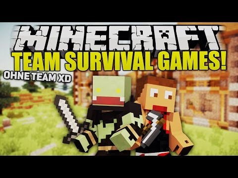 Ohne Team?! FAIL :D! - Minecraft TEAM SURVIVAL GAMES | ungespielt