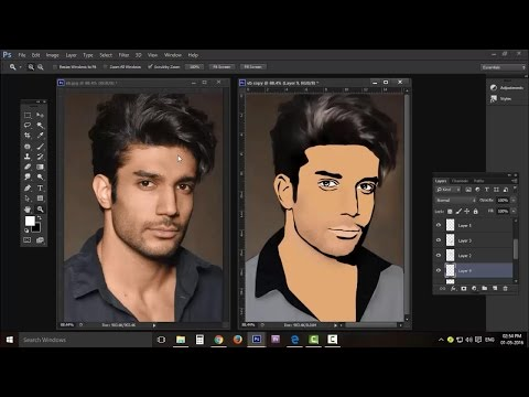 How to make your cartoon photos, full tutorial step by step [ photo art creation ] thumbnail