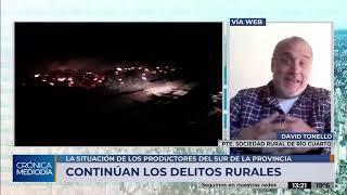 Productores cordobeses siguen reclamando que se habilite el tránsito hacia San Luis