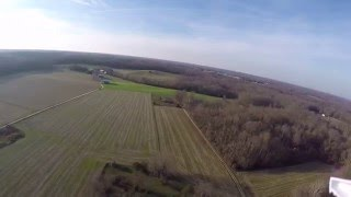 Blade 350 QX3 flying above farms in Upper Marlboro Md