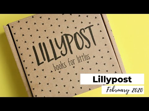 Lillypost Unboxing February 2020: Baby Subscription Box