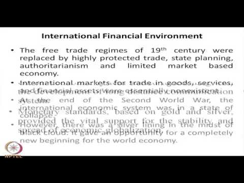 IIT Delhi International Finance  Lec1 the Big Picture