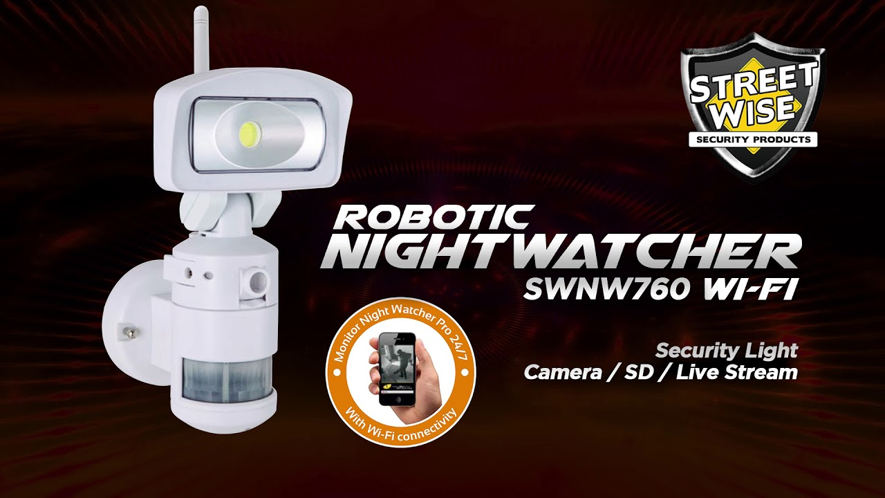 Streetwise Nighcher Robotic Cameras Lights
