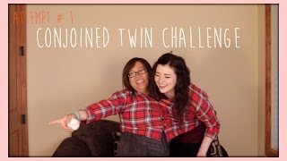 Conjoined Twin Challenge | Ashlie Marie/askylitavenue