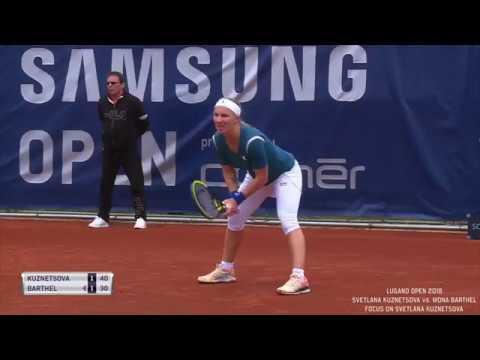 Lugano Open - Svetlana Kuznetsova vs. Mona Barthel